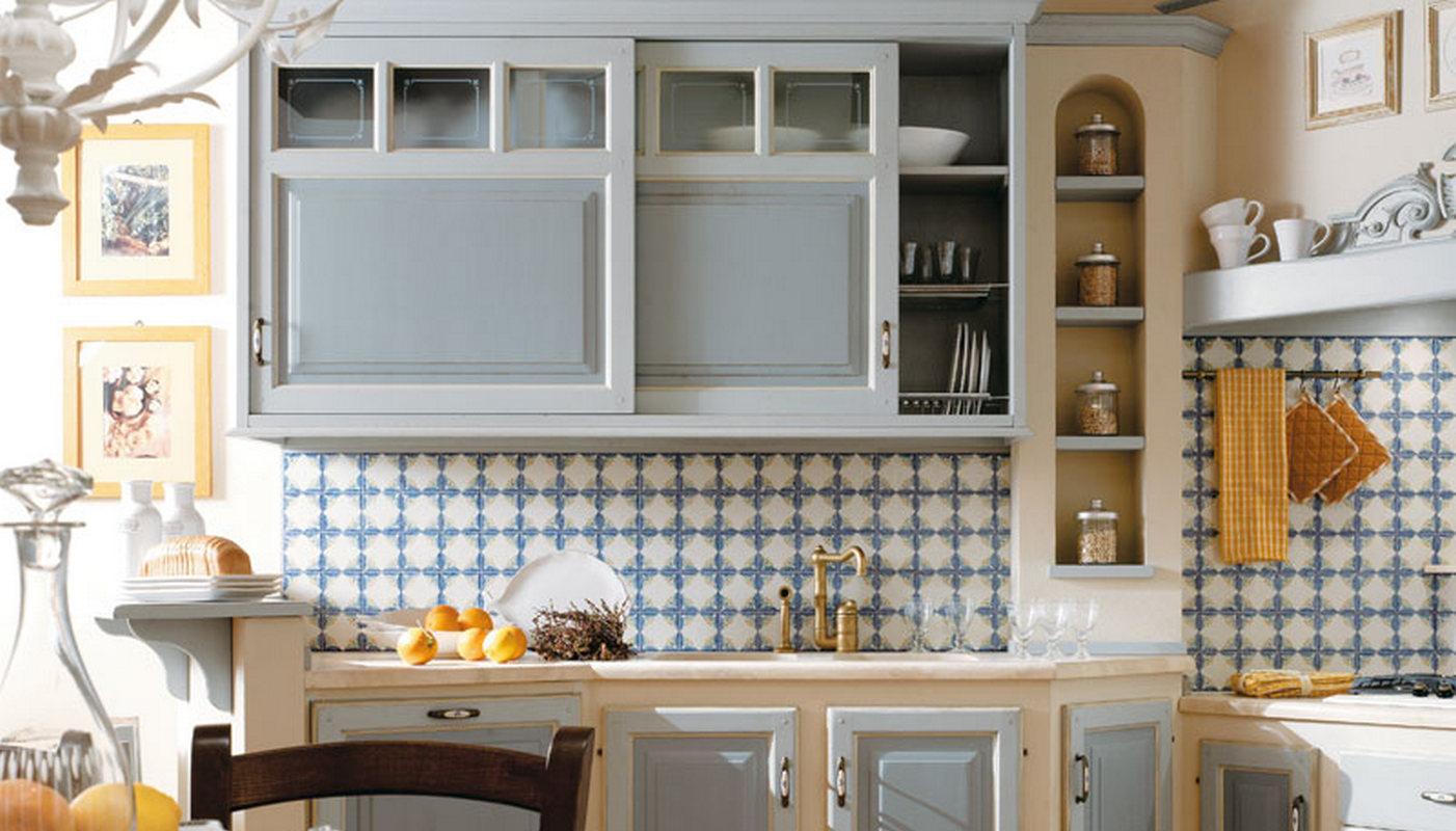 Cucine A Muro Foto cucine country style in muratura e provenzale.diversi colori