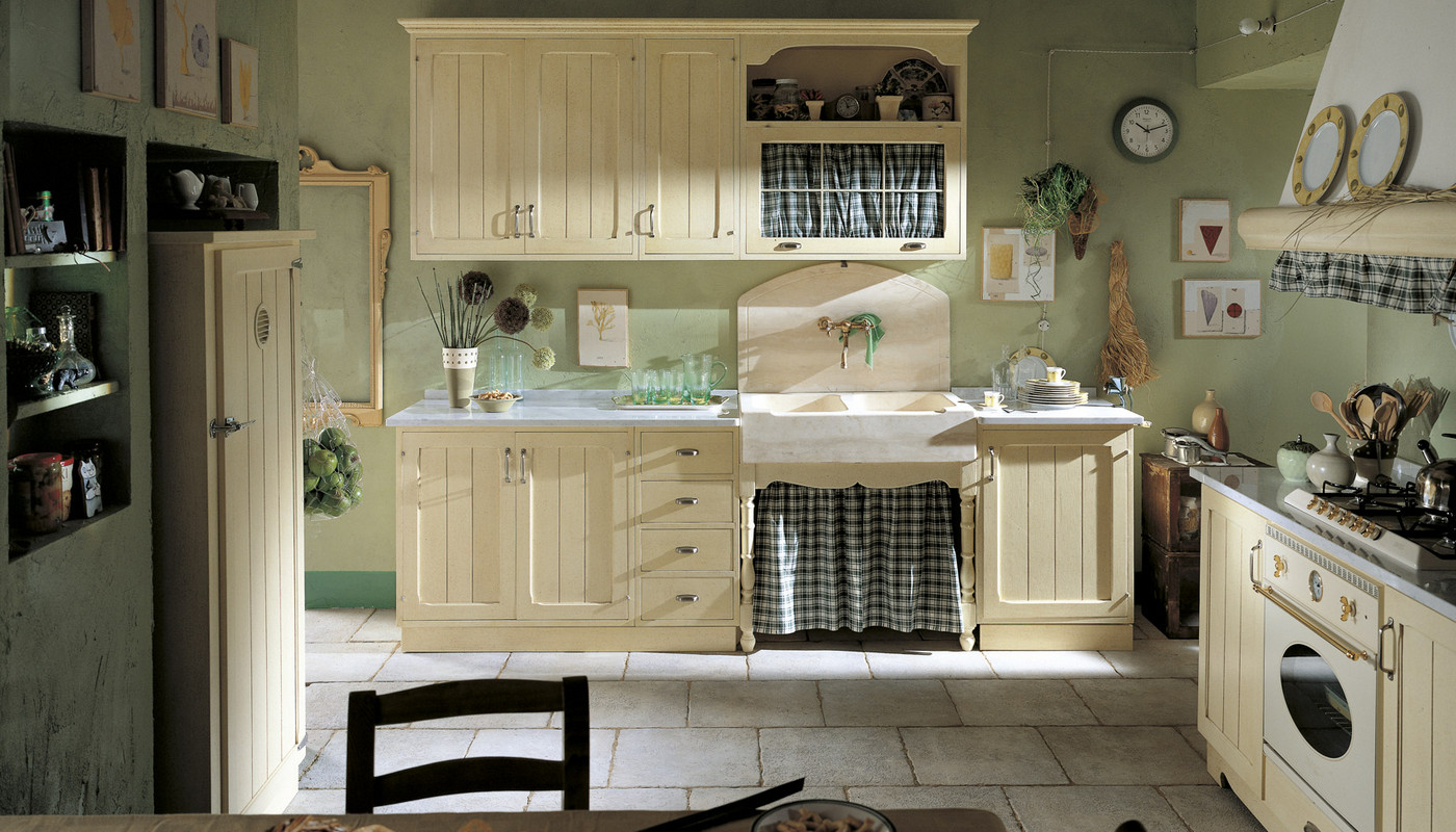CUCINA PROVENZALE COUNTRY STYLE