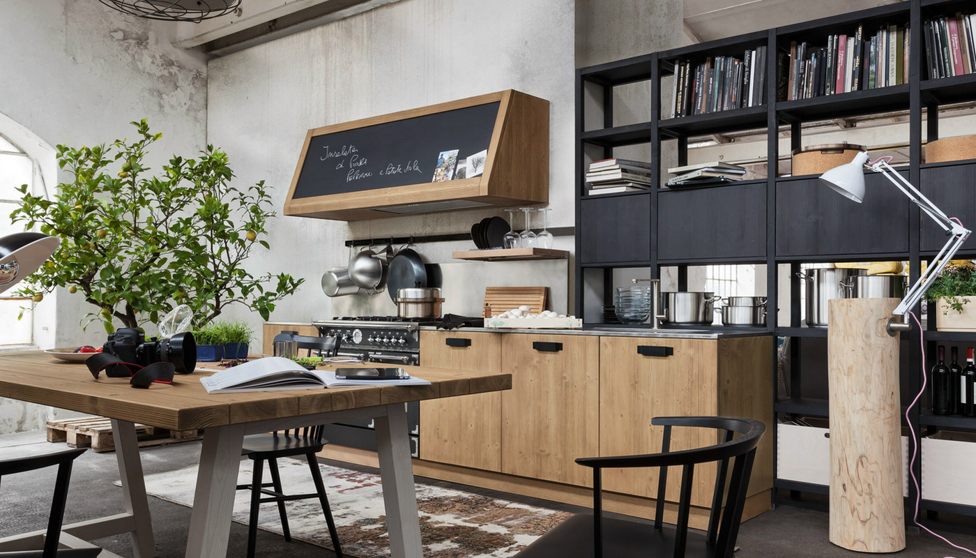 Cucina industrial design