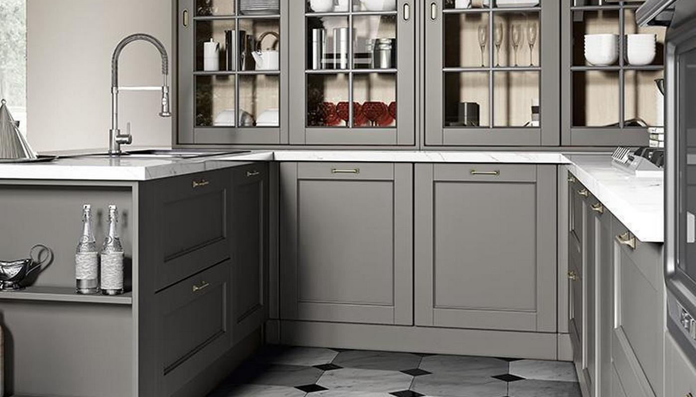 Cucine Shabby Country chic in vari colori e materiali.