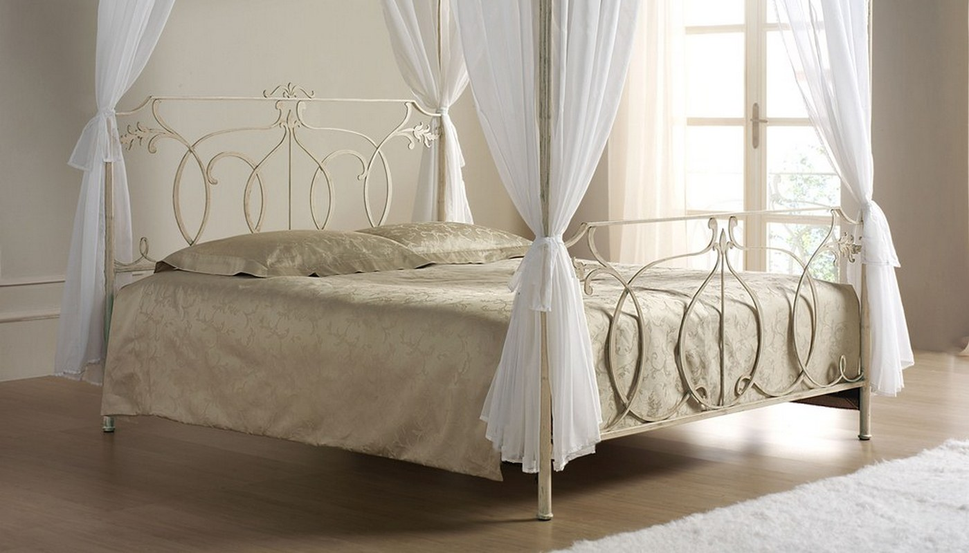 Letto matrimoniale Shabby chic