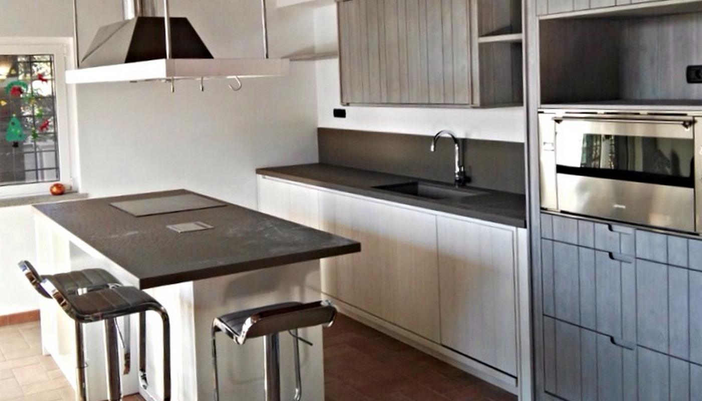 Arredamento Country Roma - Cucina Urban chic.